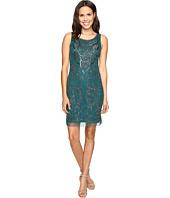 Adrianna Papell - Sleeveless Shift Short Dress
