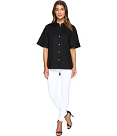 Vince Camuto - Elbow Sleeve Oversized Button Down Shirt