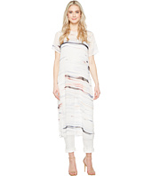 Vince Camuto - Short Sleeve Floating Whispers Long Tunic with Slits