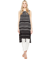 Vince Camuto - Sleeveless Pebble Stripe Tunic with Side Slits