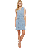 Vince Camuto - Sleeveless Delicate Pebbles Wrap Dress