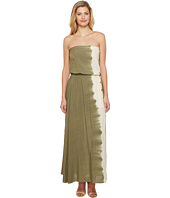 Culture Phit - Essence Strapless Tie-Dye Maxi Dress with Slit