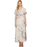 Culture Phit - Fabiola Short Sleeve Tie-Dye Maxi Dress