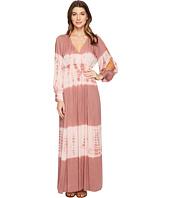 Culture Phit - Faye Long Sleeve Tie-Dye Maxi Dress