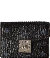 MCM - Patricia Visetos Accordion Card Mini Wallet