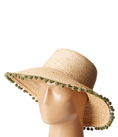 Hat Attack - Pom Pom Fringe Lampshade Sun Hat
