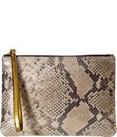 Frances Valentine - Large Glitter Snake Zip Wristlet