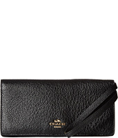 COACH - Pebbled Leather Slim Wallet