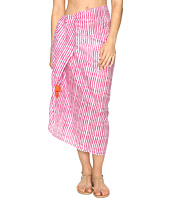 Hat Attack - Printed Sarong Cover-Up