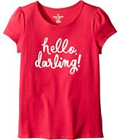 Kate Spade New York Kids - Hello Darling Tee (Little Kids/Big Kids)