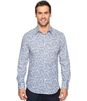 Perry Ellis - Linear Texture Print Shirt