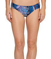 Tommy Bahama - Paisley Leaves Side-Shirred Hipster Bikini Bottom