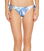 Tommy Bahama - Paisley Leaves Reversible String Bikini Bottom