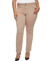 NYDJ Plus Size - Plus Size Alina Leggings in Super Sculpting Denim in Vintage Taupe