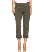 NYDJ - Dayla Wide Cuff Capris in Topiary