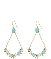 Alexis Bittar - Pavé Spike Stone Cluster Wire Earrings