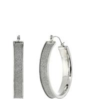 Steve Madden - Glitter Hoop Earrings
