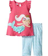 Mud Pie - Mermaid Tunic Capris Set (Infant)