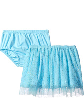 Mud Pie - Turquoise Mesh Skirt and Bloomers (Infant/Toddler)