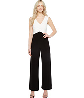 Adrianna Papell - Color Blocked Matte Jersey Jumpsuit