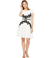Adrianna Papell - Cap Sleeve Fit and Flare Dress