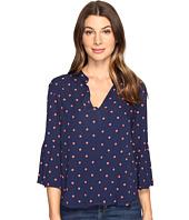 Splendid - Lacy Polka Dot Oversize Blouse