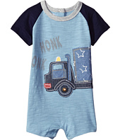 Mud Pie - Honk Truck Raglan One-Piece (Infant)