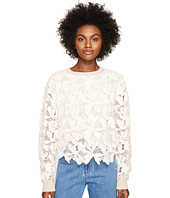 See by Chloe - Knit Lace Front Sweater