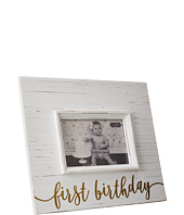 Mud Pie - First Birthday Gold Frame