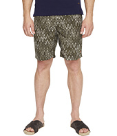 Missoni - Mare Printed Nylon Bicolor Zigzag Swim Trunks