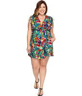 LAUREN Ralph Lauren - Plus Size Rainforest Farrah Dress Cover-Up