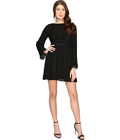 Brigitte Bailey - Layla Long Sleeve Dress with Trim Detail