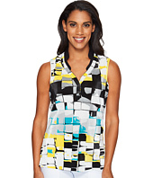 Jamie Sadock - Digi Box Print Sleeveless Top