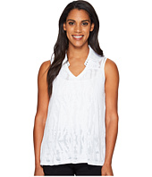 Jamie Sadock - Sleeveless Burnout Top with Lining