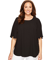 Karen Kane Plus - Plus Size Cape Sleeve Top