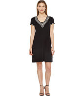 Karen Kane - Embroidered T-Shirt Dress