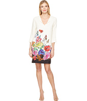 Karen Kane - Floral Border Shift Dress
