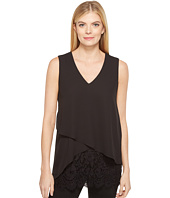 Karen Kane - Layered Lace Hem Top