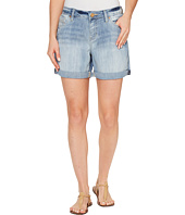 Jag Jeans - Alex Boyfriend Shorts Platinum Denim in Cool Blue w/ Destruction