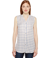 Jag Jeans - Aspen Sleeveless Top in Rayon Plaid