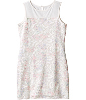 Us Angels - Printed Lace Sleeveless Illusion Sheath Dress (Big Kids)
