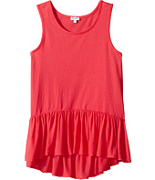 Splendid Littles - Always Solid Tank Top with Ruffle (Big Kids)