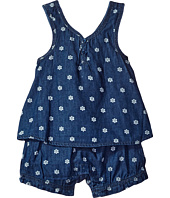 Splendid Littles - Printed Denim Romper (Infant)
