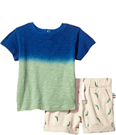Splendid Littles - Dip-Dye Tee with Printed Chili Pepper Shorts Set (Infant)