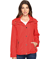 MICHAEL Michael Kors - Hooded Snap Front Jacket M322087R