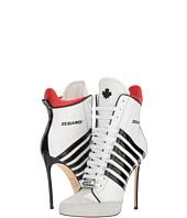 DSQUARED2 - Vitello Vernice Ankle Boot