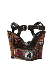 DSQUARED2 - Nappa Ecoabrasivato Patch Wedge
