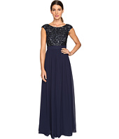 Aidan Mattox - Beaded and Georgette Gown