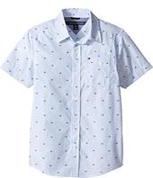 Tommy Hilfiger Kids - H-Stripe Short Sleeve Shirt (Big Kids)