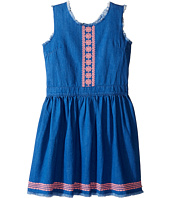Tommy Hilfiger Kids - Denim Fray Dress (Big Kids)